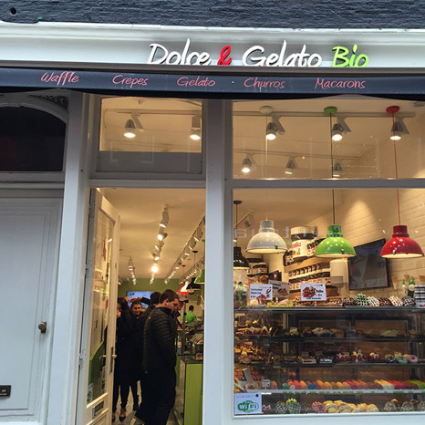 Dolae & Gelato Bio Store, The Netherlands